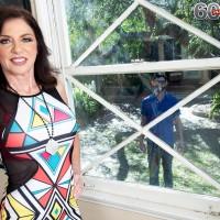 Sixty Plus MILF Cashmere gets boinked by a junior boy after seducing him thru a window