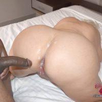 Gigantic tittted platinum yellow-haired Claudia Marie participates in hetero and lesbian sex