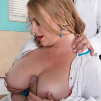Sandy-haired nurse Cameron Skye gets caught giving patient a hand-job by a doctor