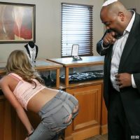 Super-sexy MILF Kat Dior entices studs with her sexy ass before anal toying and banging