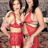 Inviting senior girls Rita Daniels and Kim Anh have a threeway with junior stud