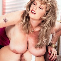 lezzie pornstar Cathy Patrick and her girlfriend play with each other huge tits