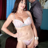 Accomplished gal Ciara is unclothed to her brassiere and underwear in a bedroom by her paramour