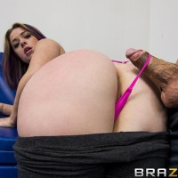PLUS SIZED BOOTIED WHITE CHICK Sierra Sanders receiving chipmunking and ass screwing from humungous cock