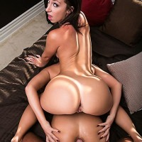 Pornstars Phoenix Marie and Jada Stevens take on a huge cock during a 3 way