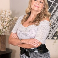Killer grandmother Mia Magnusson gets pounded doggy after seducing a ebony stud